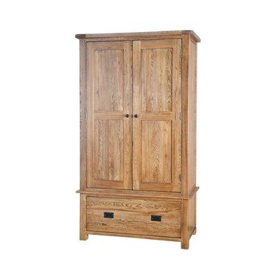 Homestead Living Rayleigh 2 Door, 1 Drawer Wardrobe