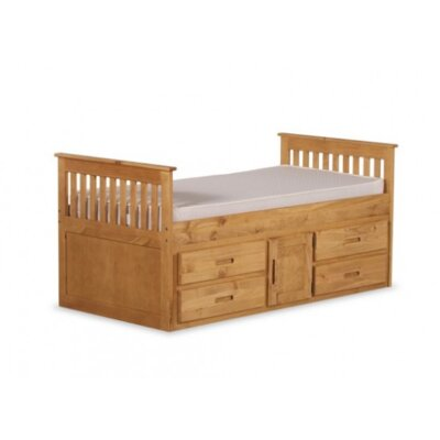 Homestead Living Captain Single Bed with Storage