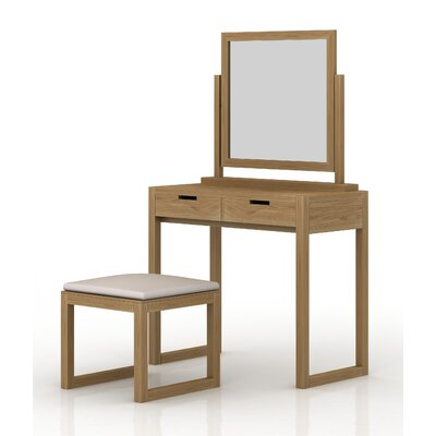 Homestead Living Felicia Dressing Table Set with Mirror