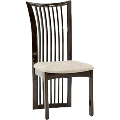 Homestead Living Marco Solid Rubberwood Upholstered Dining Chair