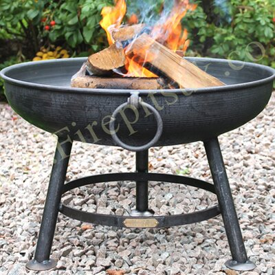 Homestead Living Steel Wood Fire Pit