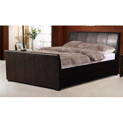 Homestead Living Poppy Upholstered Storage Sleigh Bed
