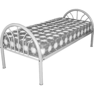 Homestead Living Luca European Single Wrought Iron Bed