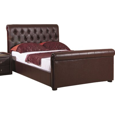 Homestead Living Meilani Upholstered Ottoman Sleigh Bed