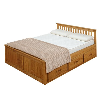 Homestead Living Small Double Storage Bed Frame