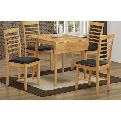 Homestead Living Extendable Dining Table and 4 Chairs