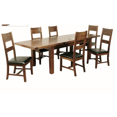 Homestead Living Extendable Dining Table and 6 Chairs