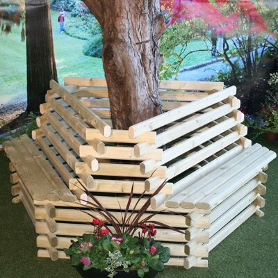 Homestead Living Regent Timber Circular Tree Seat
