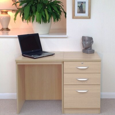 Homestead Living Walshaw Computer Desk with Filing Cabinet