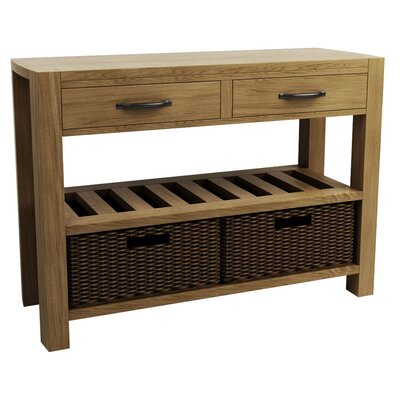 Homestead Living Moa 2 Drawer Console Table