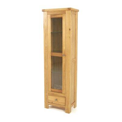 Homestead Living Francesco Solid Wood Glass Display Cabinet