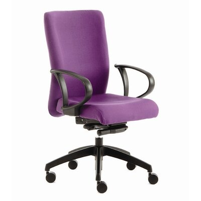 Home Etc Adept High-Back Executive Chair with Lumbar Support