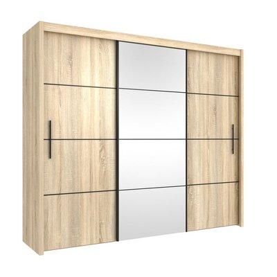 Home Etc Virgo 3 Door Wardrobe