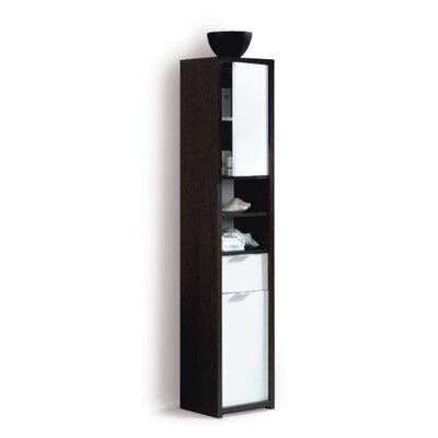 Home Etc 35 x 170cm Wall Mounted Tall Bathroom Cabinet