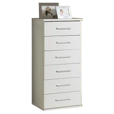 Home Etc Hydra 6 Drawer Chest of Drawers