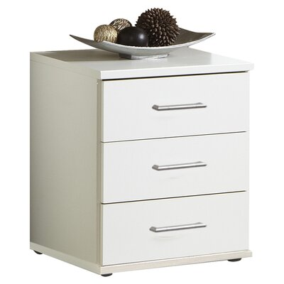 Home Etc Hydra 3 Drawer Bedside Table
