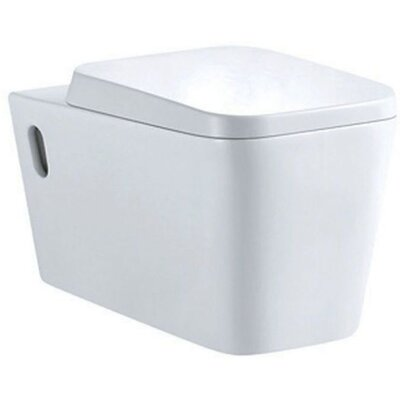 Home Etc Elise Wall Hung Toilet with Soft Close Seat