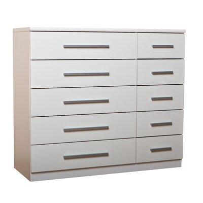 Home Etc Duveau 10 Drawer Chest of Drawers