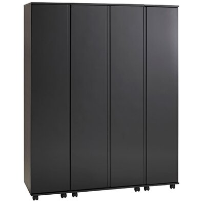 Home Etc Vergara 4 Door Wardrobe