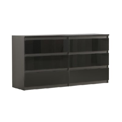 Home Etc Chelsea 6 Drawer Chest of Drawers