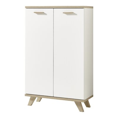 Urban Designs GW-Oslo 2 Door Storage Cabinet