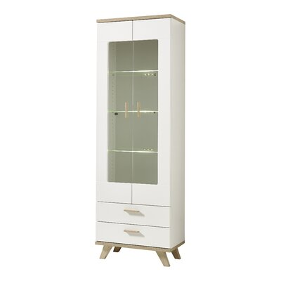 Urban Designs Osolo Solid Wood China Cabinet