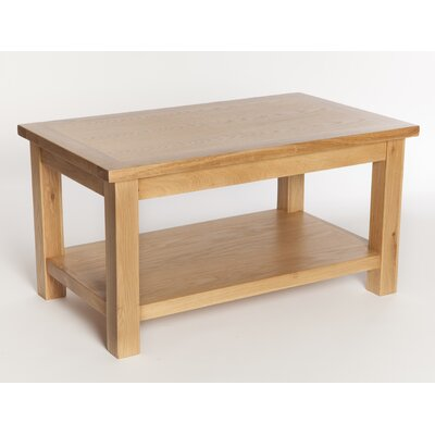 Home Etc Selsey Coffee Table with Magazine Rack