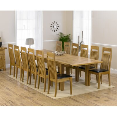 Home Etc Ritual Dining Table and 12 Chairs