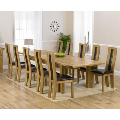 Home Etc Ritual Dining Table and 10 Chairs