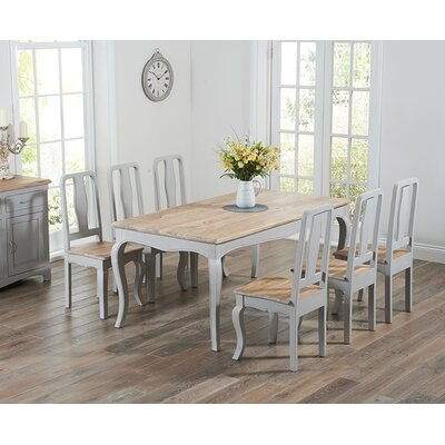 Home Etc Miller Dining Table and 2 Chairs and Bench