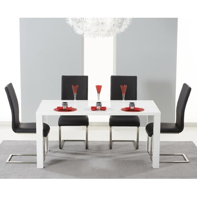 Home Etc Chelsea Dining Table and 4 Chairs