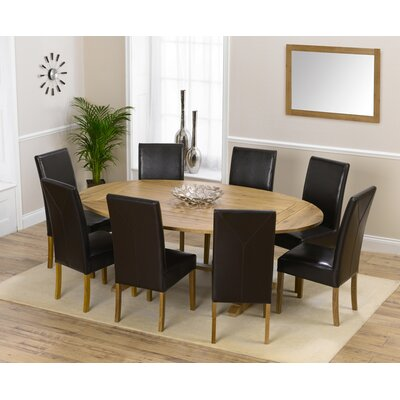 Home Etc Spencer Extendable Dining Table and 8 Chairs