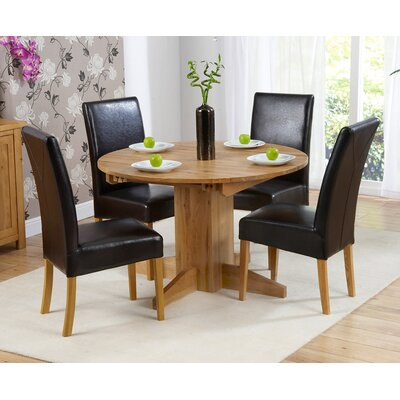 Home Etc Monaco Extendable Dining Table and 4 Chairs