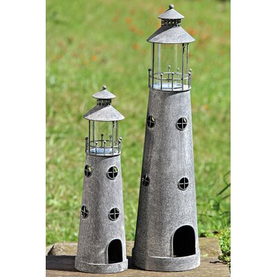 Home Etc Lighthouse 2-Piece Tealight Set