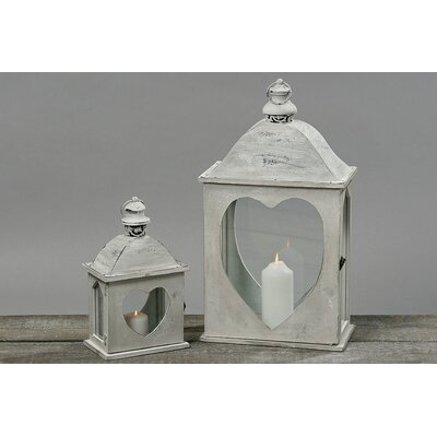 Home Etc Tulip 2 Piece Lantern Set
