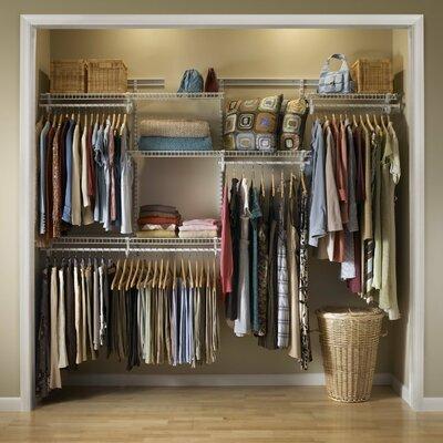Home Etc Adjustable 4 Shelf Closet Organiser Kit