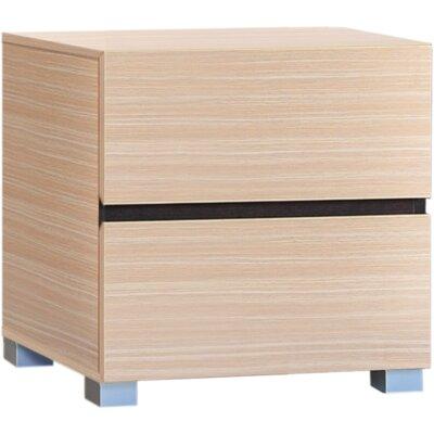 Home Etc 2 Drawer Bedside Table