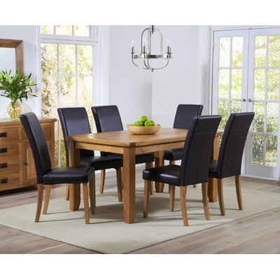 Home Etc Stoke Dining Table and 6 Chairs