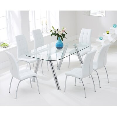 Home Etc Cowell Dining Table and 6 Chairs
