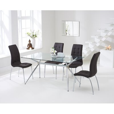 Home Etc Santorini Dining Table and 4 Chairs
