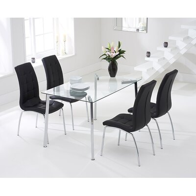 Home Etc Regensburg Dining Table and 4 Chairs