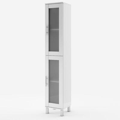 Home Etc Ardmona 35 x 190cm Free Standing Tall Bathroom Cabinet
