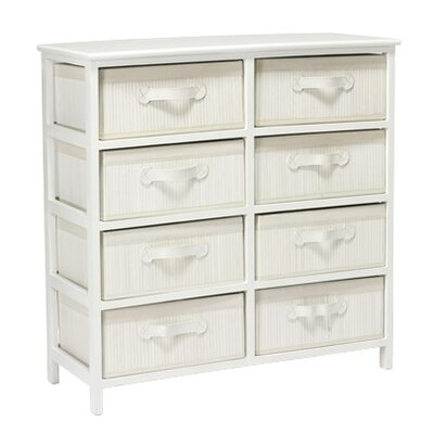 Home Etc 8 Drawer Chest of Drawers