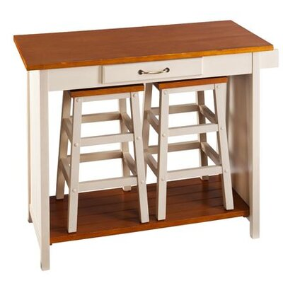 Home Etc Nantucket Dining Table and 2 Chairs