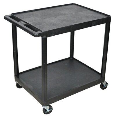 Home Etc Multi Purpose Utility Cart with 2 Shelves