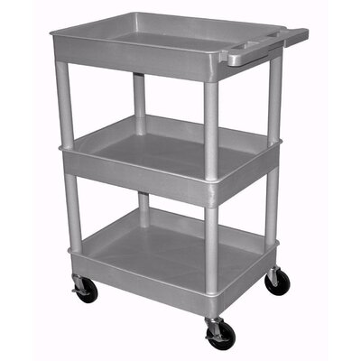 Home Etc Multi Purpose Utility Cart with 3 Tubs