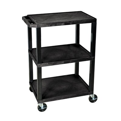 Home Etc Multi Purpose Utility Cart with 3 Shelves