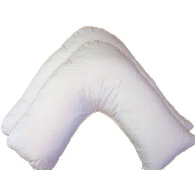 Home Etc Hollow Fibre V-Shaped Pillow (Set of 2)