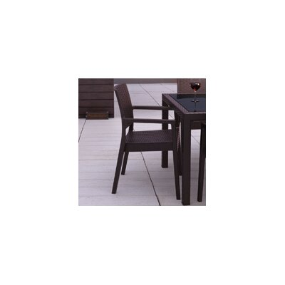 Home Etc Venice Stacking Dining Arm Chair