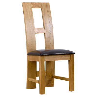 Home Etc John Louis Solid Oak Upholstered Dining Chair